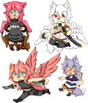 OC Cheebs by Itadakii