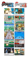 pokemon black and white 2 screens by Deorro