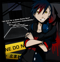 TWEWY - Scared, kiddo? by zettapoke