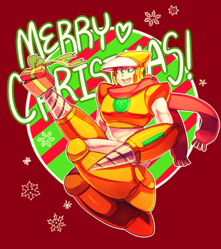 THE SUPER SECRET CLAUS FOR ROBOTIC BEHINDS by Nyaph