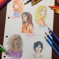 Favorite PJO and HOH girls - remake by GiuliaMarchi