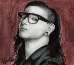 Skrillex by marvincastillo