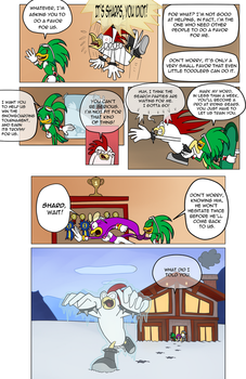 Sonic Heroes 2 - Babylon - page 15 by Missplayer30