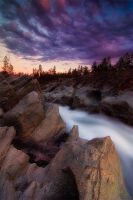 Clear Creek Sunset by davidrichterphoto