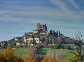 Turenne 01 - Medieval town and castle by HermitCrabStock