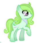 Mlpfim Oc: Pillow Mint by XxAyuChuxX