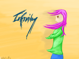 Infinity - Album Cover? Concept by instant-noodle5