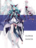 [CLOSED] Auction - Flower Dancer 1 by Mint-053
