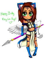 Happy Birthday Kitty-cat-angel! by Ch4rm3d