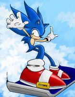 Sonic-Sky by arvalis