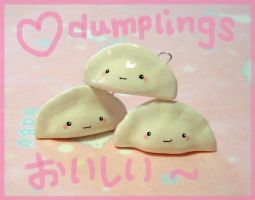 Kawaii Dumplings by janeybaby