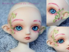 BJD Face Up - Resinsoul Yu by Izabeth