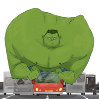 Hulk Smash by Lelpel