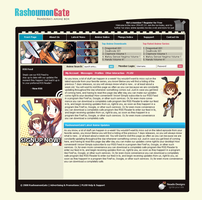 Anime Premium Member Site by neadodesigns