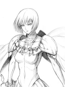 Claymore by setsuna1111