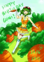 Happy Birthday GUMI by GeHwa