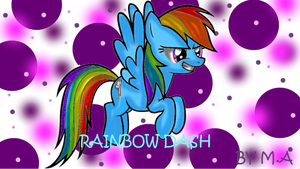 RAINBOW DASH by artlove152