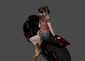 Re2 Bike Claire by a-m-b-e-r-w-o-l-f