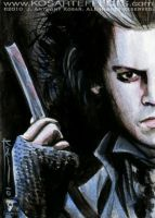 Sweeny Todd - Sketch Card by KOSARTeffects