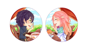 EE: Lunch Time!!! by xSeiGax