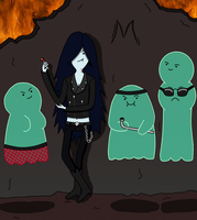 Marceline's Underworld Gang by MissTickles