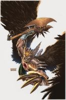 Savage Hawkman 1 by DeevElliott