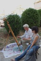 street painter by Her-Redness