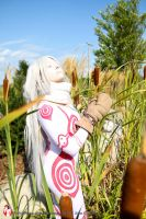 Shiro in the Sunlight by morgynshinigami