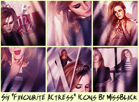 Six Favourite Actress Icons - Challenge by EmeliaJane