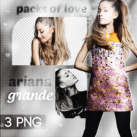 PNG PACK (71) Ariana Grande by DenizBas