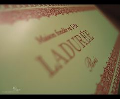 Laduree Logo by ManoAziz