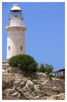 lighthouse of paphos by asomy