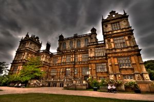Wollaton Hall Back by cathy001