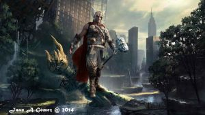 Thor arrival by totoletoto