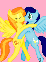 Spitfire x Soarin by some-pegasister
