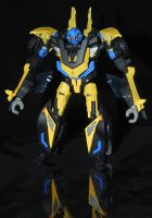 Transformers Prime Shattered Glass Goldbug custom by Shenron-Customs