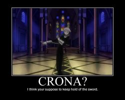 Crona: Keep hold of the Sword by CronaMotivation