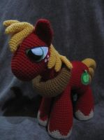 Big Macintosh by NerdyKnitterDesigns