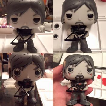 NEW Daryl Dixon Exclusive Detailed Pop Figure by My-Fragmented-Angel