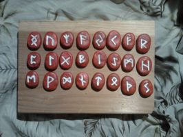 Red Runes by Durkee341