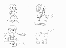 FH Chibis by FakingMe