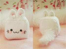 HANDMADE Cute Cat Plushie by Plusheemaniac