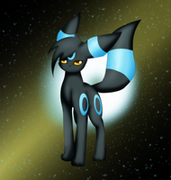 An Umbreon (Shiny) by X-ShiningStar-X