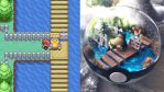 Block Rout Snorlax - Poke Ball Terrarium by TheVintageRealm