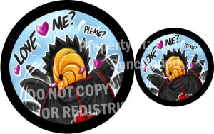 Tobi Pin- 'Love me? Please?' by Sanctioned