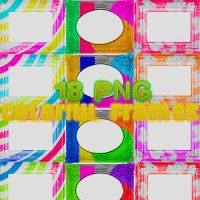 18 Colorized Frames by ObsessionForJB