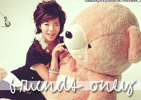 Sunny Friends Only Banner by ohmyjongwoon