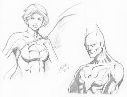 Random character sketches 6 by RV1994