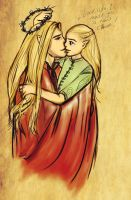 LotR: His little leaf by Hedonistbyheart