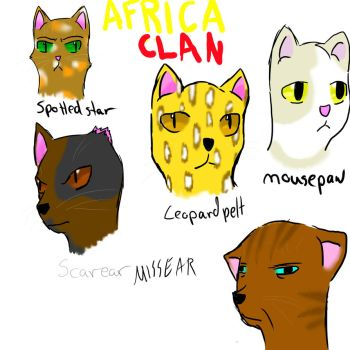 Africa clan pt.1 by AgenderedKing
